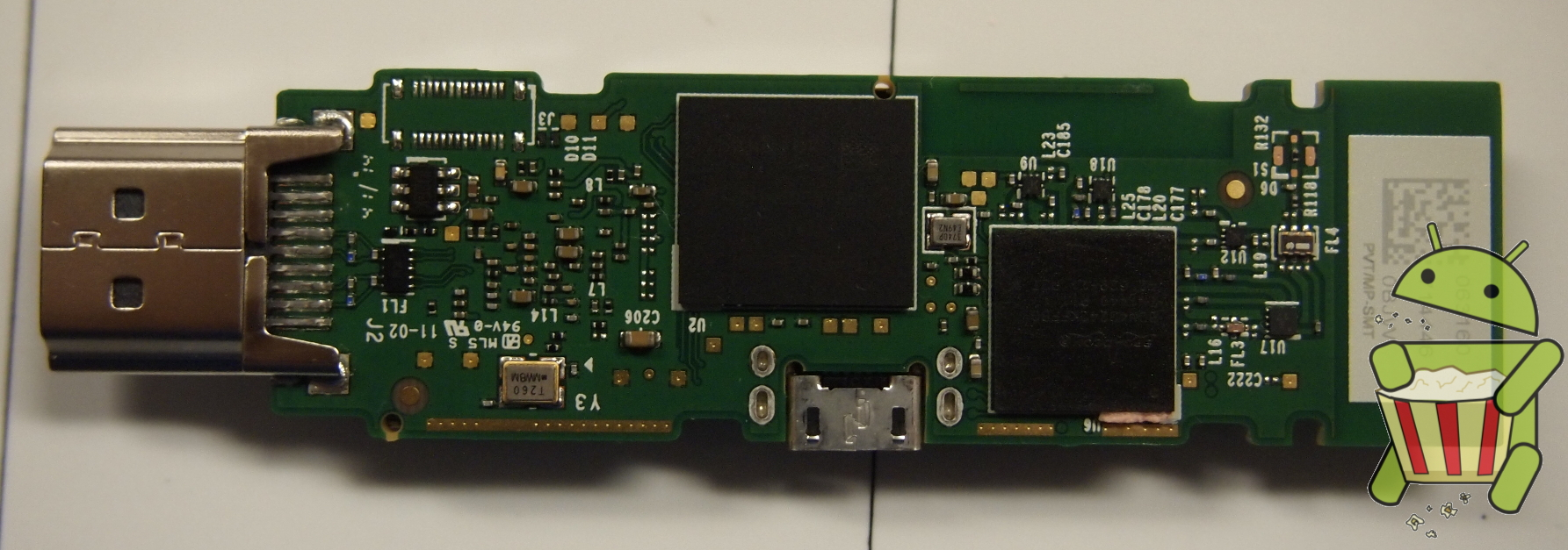 Amazon Fire TV Stick Board Bottom Pads Removed.JPG